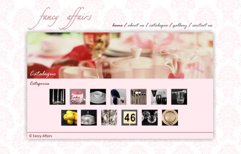 Fancy Affairs - Catalogue