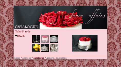 Fancy Affairs - Catalogue - Cake Stands