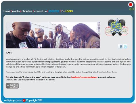 SaHipHop.co.za - About Us