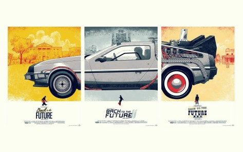 Back To The Future Posters