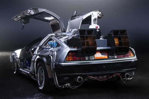Paul Nigh's Back to the Future DeLorean Time Machine