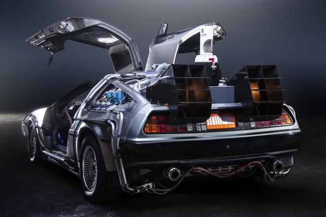 Paul Nigh's Back to the Future DeLorean Time Machine